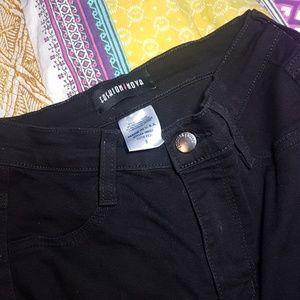 Fashion Nova- No Promises Distressed Skinny Jean's